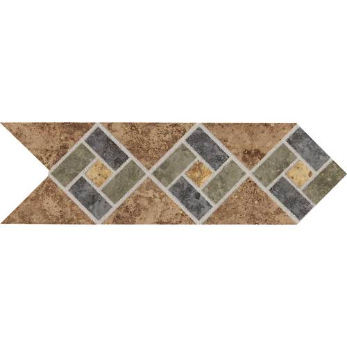 DALTILE HEATHLAND SUNSET DECO HL08-5661
