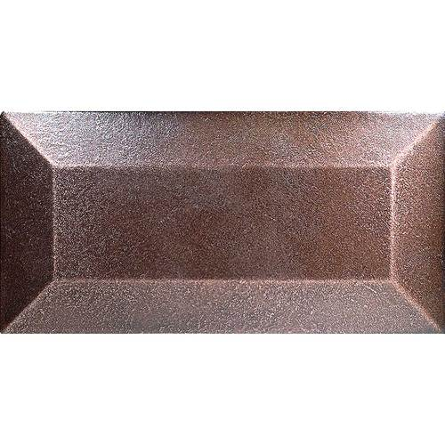 DALTILE ION METALS OIL RUBBED BRONZE 3 X 6 BEVEL WALL TILE