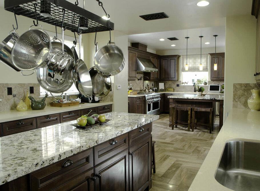 Perlato Granite Kitchen